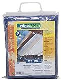 Windhager Toldo para Estructura corredera, Azul Puro, 270 x