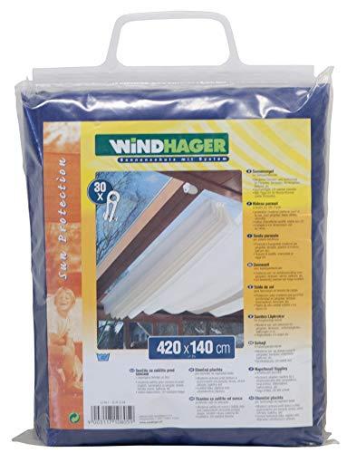 Windhager Toldo para Estructura corredera, Azul Puro, 270 x 140cm