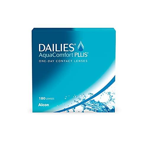 DAILIES AquaComfort Plus 1-Tages-Kontaktlinsen, 180 Stück, BC 8.7 mm, DIA 14.0 mm, -3.5 Dioptrien