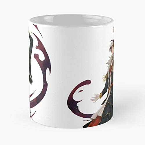Scurry And Scatter – Taza de café de cerámica de mármol blanco que personalizo