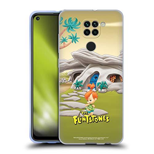 Head Case Designs Licenciado Oficialmente The Flintstones Pebbles Picapiedra Personajes Carcasa de Gel de Silicona Compatible con Redmi Note 9 / Redmi 10X 4G