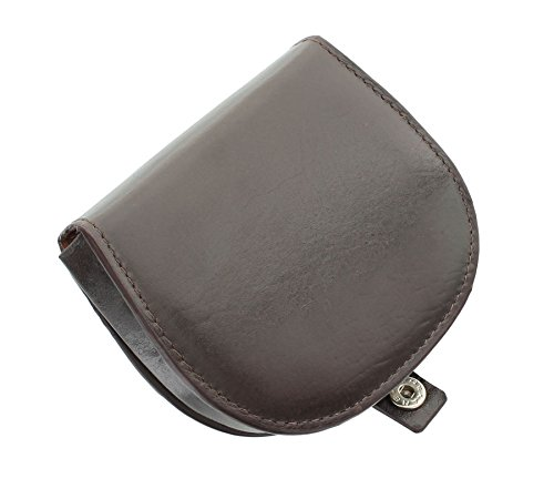 Mala Leather Odyssey Collection Leather Tray Coin Purse 4114_14m Brown