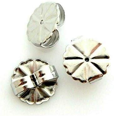 20 Stainless Steel 4 years warranty 9.5mm Earnut Elegant Replacement Earring Monster Clut