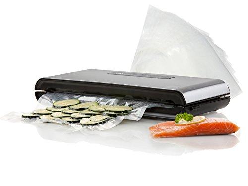 Domo envasar al vacío, pantalla schw Hielo sgerät–Resistente al aire verschließend Incluye bolsas de vacío 7028x 40cm