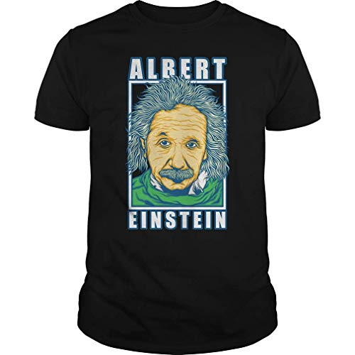iksrgfvb Camiseta Albert Einstein 6XL