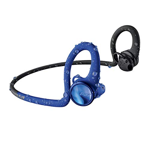 Plantronics BackBeat Fit 2100 Bluetooth - Auriculares Deportivos, In-Ear, Azul, Uni