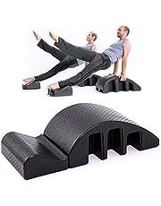 Spine Supporter Pilates De Masaje For Camas, Corrector De La Columna Vertebral, Equipos De Estiramiento De Yoga Fitness De Pilates For Principiantes Unisex