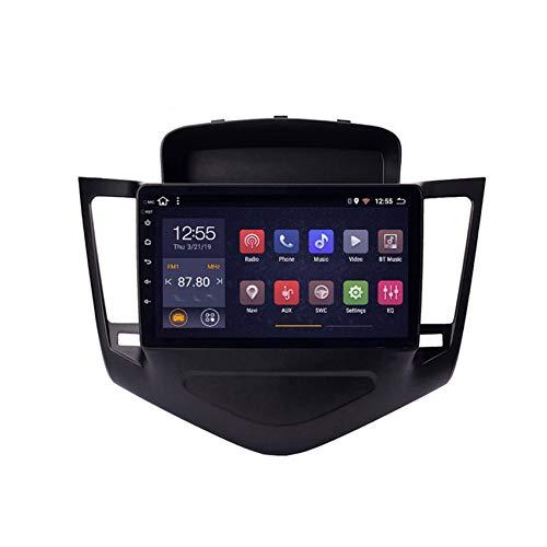 DMMASH Android 8 Car Stereo Navegación GPS Auto Radio para Chevrolet Cruze 2009-2014 2 DIN Pantalla Táctil de 9 Pulgadas WiFi/BT, Soporte Llamadas Manos Libres,4 Cores,4G+WiFi:2 +32G