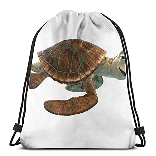 Nemo Chill Turtle Sport Bag Gym Sack Drstring Backpack for Gym Shopping