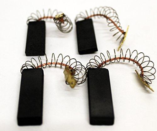 Bosch Neff Siemens laminé BROSSE CARBONE paire Plus One de rechange Set APPROPRIÉÀ le chargement frontal AUTOMATIQUE machines à laver et rondelle Sécheur compatible avec numéro pièce BSH 154740