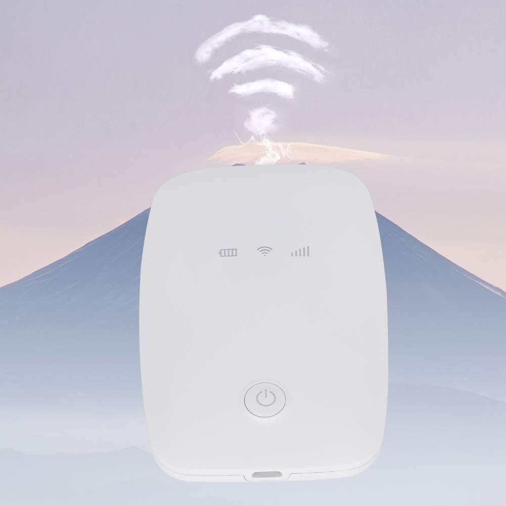 Sutinna 4G LTE Mobiler WLAN-Hotspot tragbarer Mini-M3 925D-3 4G LTE WLAN-Box mit 150 Mbit//s WLAN-Router f/ür Tablet-Notebooks