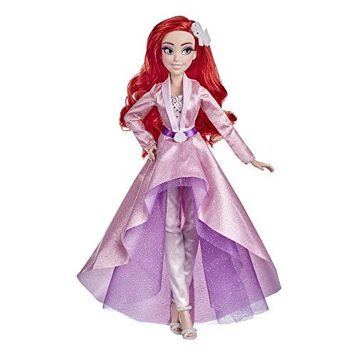 Disney Princess Style Series 07 Ariel, muñeca de Moda en Estilo Moderno con Pendientes y Zapatos, muñeca Coleccionable, Juguete para niñas de 6 años en adelante