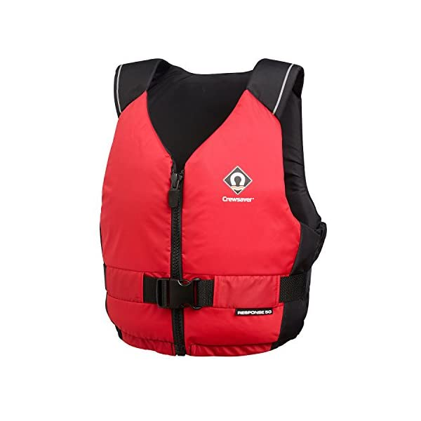 Crewsaver Boating and Sailing - Response 50N Kayak Dinghy PFD Buoyancy Aid for Watersports Red - Unisex - Lightweight