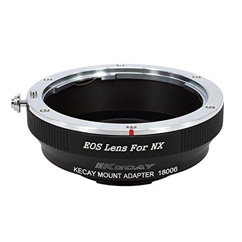 KECAY Objektivadapter für Canon EOS EF EF-S Objektiv auf Samsung NX-Mount-Kamera NX1 NX3000 NX2000 NX300M NX300 NX1000 NX210 NX200 NX30 NX20 NX5 - Objektiv Mount Adapter Converter für Canon an NX