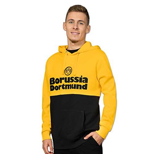 Borussia Dortmund BVB-Hoodie Retrospektiv Herren schwarzgelb XXL