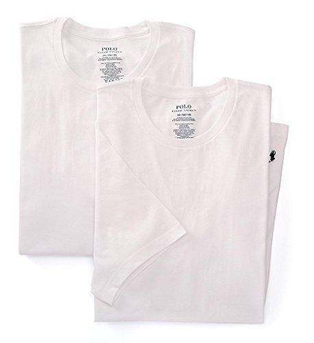 Polo Ralph Lauren 2-Pack Big Crew T-Shirt White 3XL