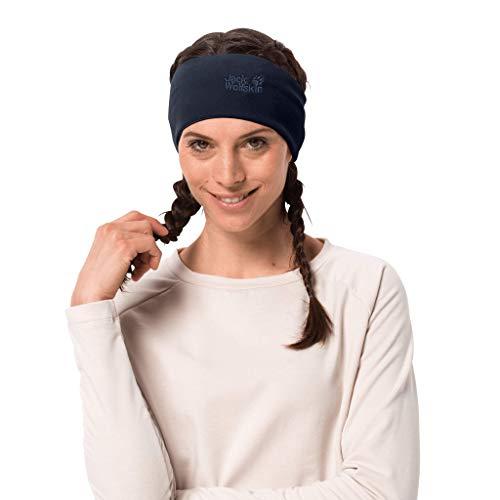 Jack Wolfskin REAL Stuff Headband Stirnband, Night Blue, ONE Size