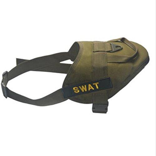 Bluelover Dog Training Vest Nylon Verstelbare stroken riem service pagina voor grote