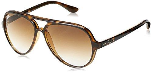 Ray-Ban RB4125-710/51 Gafas de sol, Havana Claro, 0 para Hombre