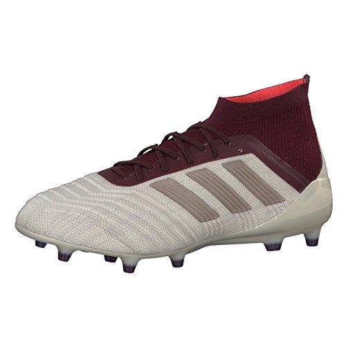 adidas Damen Predator 18.1 FG Fußballschuhe, Mehrfarbig (Talco/Grmeva/Granat 000), 42 2/3 EU