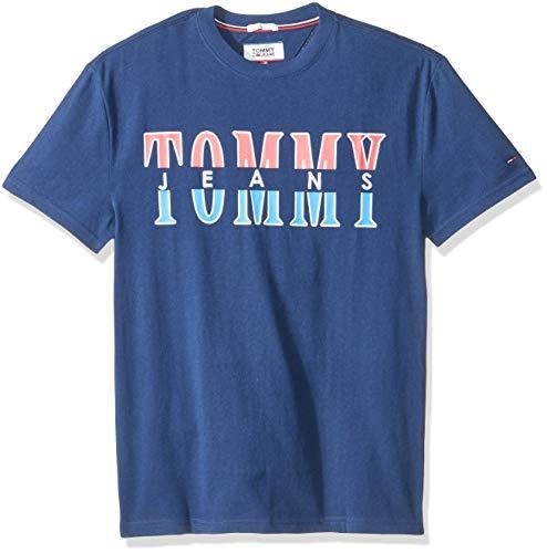 Tommy Hilfiger Split Logo Camisa para Hombre