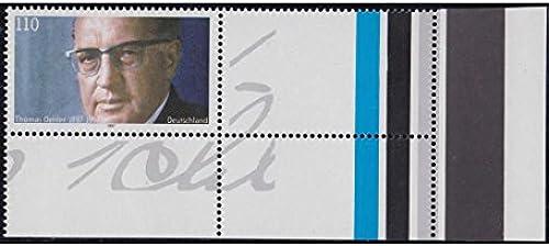Goldhahn BRD Bund Nr. 1963 L postfrisch  Eckrandstück mit Leerfeld Briefmarken für Sammler