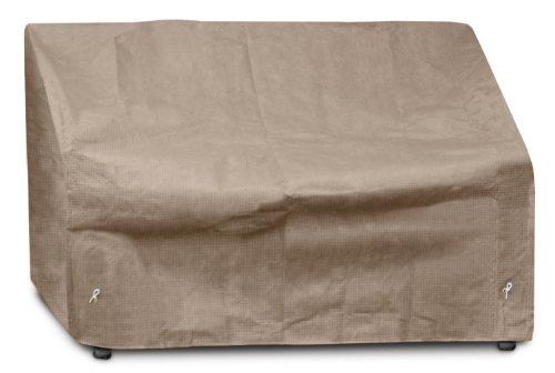 KOVERROOS III 32350 2 Places/Loveseat Coque, 137,2 cm (L) x 96,5 cm de diamètre 78,7 cm de Hauteur, Taupe