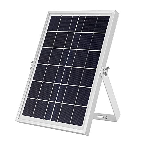 IDWT Banco De Energía Solar, Cargador De Batería Solar Portátil del Panel De Carga Solar De 6W 6V para Al Aire Libre para La Cámara De Seguridad