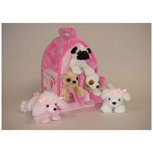 Pink Stuffed Dog Amazon Com