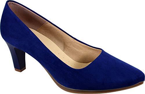 WUAPAS 3590 - Zapato Mujer Salón Stiletto Tacón 7 cm