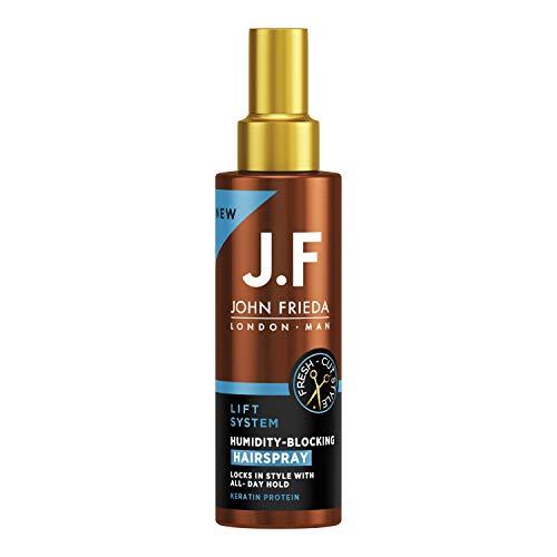 John Frieda Man Humidity Blocking Haarspray - Mit Keratin-Protein, 150 g