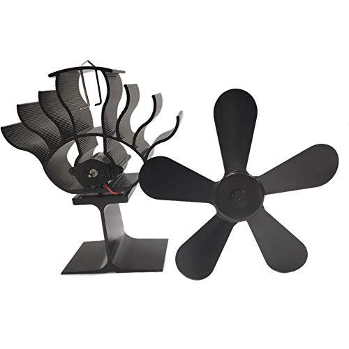 PIONIN Ventilador para Chimenea, Respetuoso con el Medio Ambiente, Ventilador de Alta Temperatura silencioso