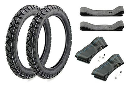 6 teiliges Enduro Reifen Set VRM 185, 2.75x16 wie K42 für Simson S50 S51 KR51