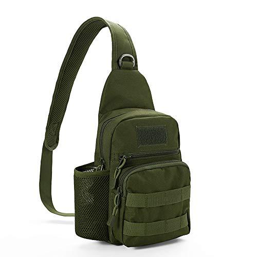 Saco de tórax masculino feminino camuflagem Saco esportivo militar de grande capacidade para ciclismo caminhada mochila de ombro