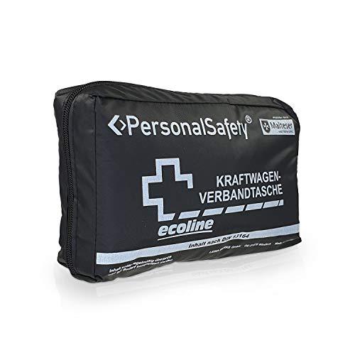 Betriebsausstattung 24® KFZ-Verbandtasche | Verbandskasten für den Straßenverkehr | First AID Box | Nylon | (DIN 13164, schwarz)