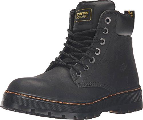 Dr. Martens, Men's Winch Soft Toe Light Industry Boot, Black, 11 M US