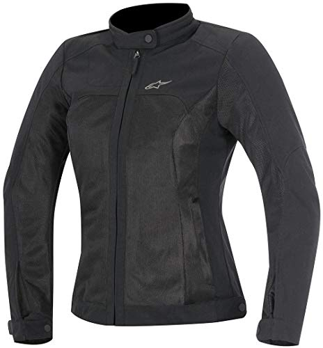 Alpinestars 10009900 Motorrad Jacke, Schwarz, L