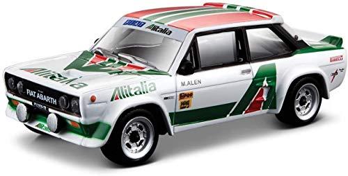 Burago- Bburago 90618.024 Auto Fiat Abarth Alitalia, 1:43, B18-38017