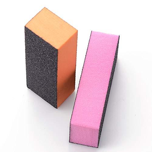 Block Nail - 5pcs lot New Free Shipping Color safety Buffer Buffing Splice San