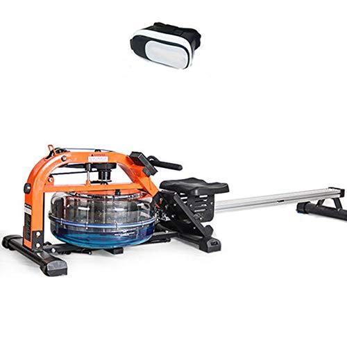 YYD Máquina de Remo de Agua máquina de Remo Comercial máquina de Resistencia al Viento Resistencia al líquido máquina bloqueadora de Agua (con Gafas VR),redoak