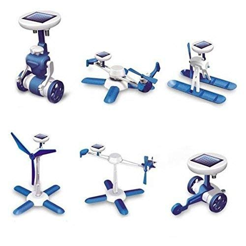 ADITYA INFO 6 in 1 Educational Solar Power Energy Robot Kit - Series 2