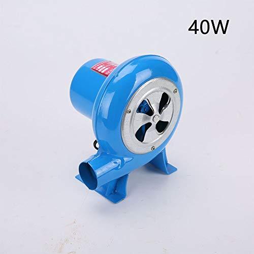 Yxs Blower Electric, IP65 wasserdichte aufblasbares Gebläse, Hüpfburg, Frequenz 30W-200W, Spannung 220V, Familien Garten Außen Hüpfburg Gebläse (Color : 40W)