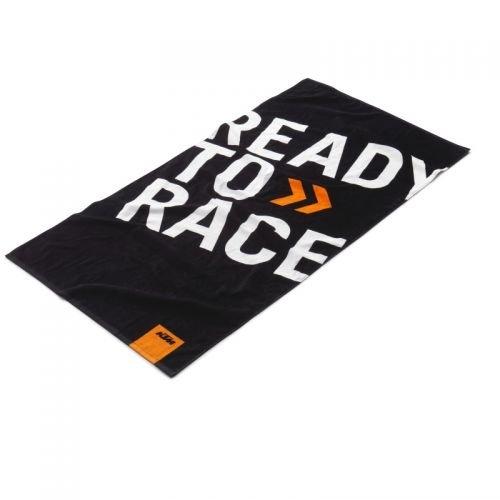 Toalla original de KTM con el logo