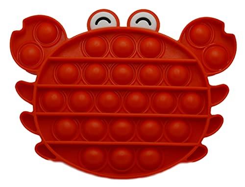 Fidget Toys Juguete antiestres, sensorial y Relajante. (Cangreja)