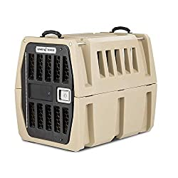 Gunner Kennels G1 Intermediate Dog Crate | Crash Tested Pet Travel Crate, Escape Proof, Heavy Duty Dog Box | Dog Kennel Fits Medium and Large Breed Dogs
