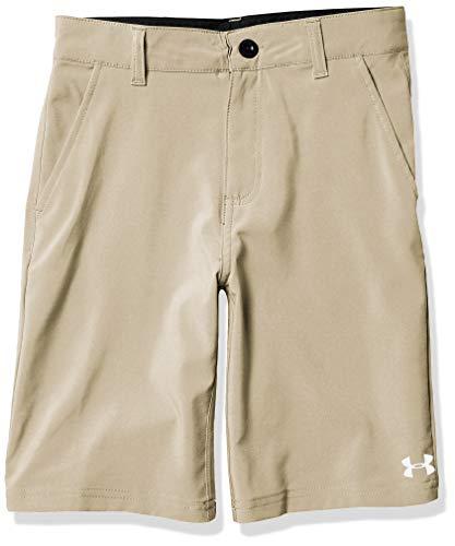 Under Armour Boys' Big UA Standard Short, Desert Sand, 18