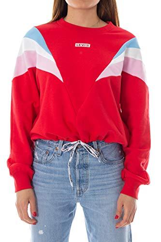 Levi's Sudadera Mujer Small Rojo