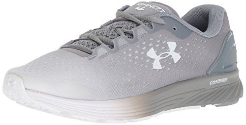 Under Armour Women's Charged Bandit 4 Running Shoe, White (102)/Steel, 6