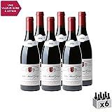 Nuits-Saint-Georges Rouge 2016 - Domaine Confuron-Gindre - Vin AOC Rouge de Bourgogne - Cépage Pinot Noir - Lot de 6x75cl