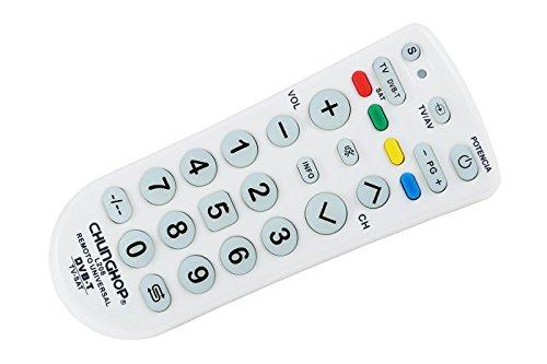 TrAde Shop Traesio- Mando a Distancia Universal Chunghop L208 TV DVB T Sat Multi Control CHUNGHOP L208